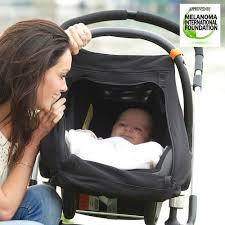 Universal Car Seat Canopy by Snoozeshade For Infant Car Seats