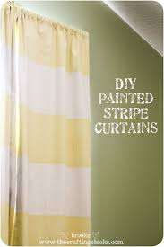 Yellow Stripe Curtains 5 Great Diy Window Covering Ideas For Rooms