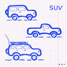 hand drawn sketch cars vector clipart image 28469 u2013 rfclipart