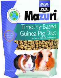 mazuri timothy based guinea pig food 5 lb bag chewy com