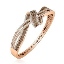 rose gold bracelet diamonds images Gold bracelet arma brown diamond bracelet jpg