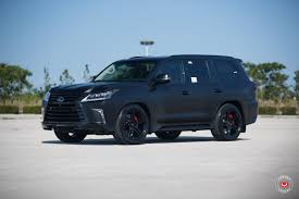 toyota lexus truck 2016 lx 570 by jm lexus u0026 jm custom creations on vossen wheels