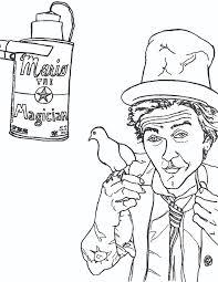mario magician coloring book shandke art