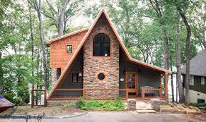 a frame home designs downsized living a frame home design and blueprints
