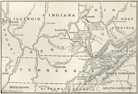 Map Of Dayton Ohio Map Of The Cumberland Gap