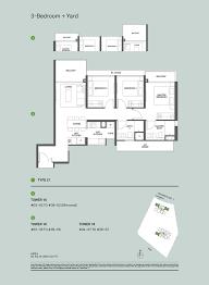 canopy floor plan 3 bedrooms the clement canopy