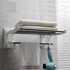 wall mount towel rack brushed nickel towel bar modern towel rack