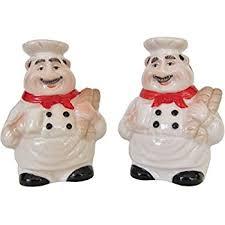 Italian Chef Decor Amazon Com Italian Chef Salt And Pepper Shaker Set By Chef Decor