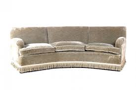 Curved Sofa Set Vintage Italian Curved Sofas Set Of 2 For Sale At Pamono