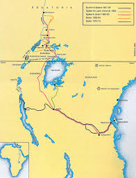 Lake Victoria Africa Map by The British Empire In Africa