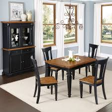 inspiring oak dining room sets with hutch ideas 3d house designs home styles black and oak americana 5pc dining set w buffet and hutch