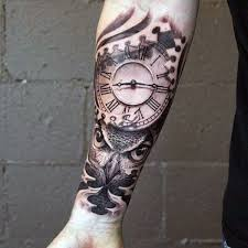75 inner forearm tattoos for masculine design ideas