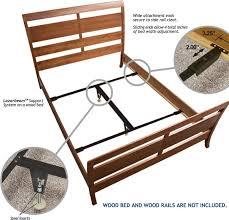 excellent ideas bed frame support amazon com adjustable center leg