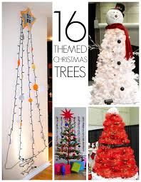 themed christmas 19 christmas tree themes c r a f t