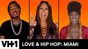 cyn pulled back hair love and hip love hip hop miami official first look new series coming in