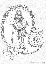 train dragon coloring pages coloring book