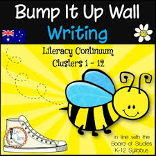 bump it bump it up wall australian curriculum aligned writing clusters