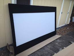 premier seymour av screen with magnetic masking panels
