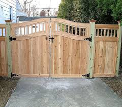 Wood Fence Designs Ideas Chuckturnerus Chuckturnerus - Backyard gate designs