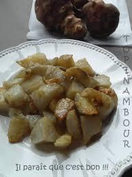 cuisiner les topinambours a la poele topinambour poêlé au beurre salé il paraît que c est bon il