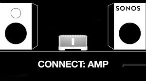 connect amp wireless stereo amplifier sonos