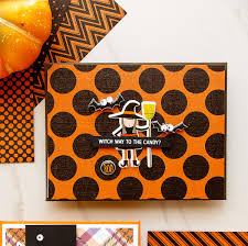 Halloween Glitter Graphics by Simon Says Stamp Limited Edition Halloween Card Kit Yana Smakula