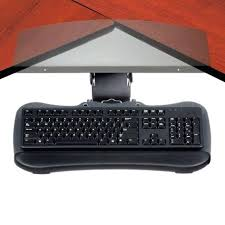 Corner Desk Keyboard Tray Corner Desk Keyboard Tray Plfixtures Info