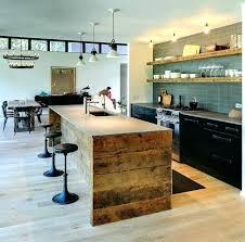ilot cuisine bois ilot cuisine bois ilot central en bois brut ilot