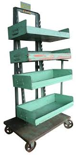 Industrial Shelving Units by Adjustable Industrial Shelving Unit Vintage Retail Displays From