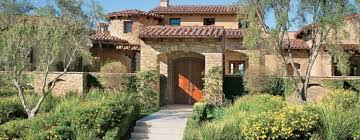 Santa Fe Style House A Transitional Tuscan Style Rancho Santa Fe Home Features