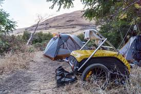nomad off road car bike cargo trailer bike touring trailers
