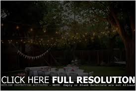 backyards excellent hanging lights for outside party decorations