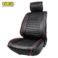 tirol pu leather universal front single car seat covers seat