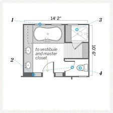 zspmed of master bathroom floor plans epic in home decoration