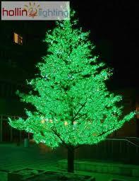 led christmas tree green led christmas tree hl ct013 hollinlighting