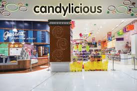 candylicious candy store at the dubai mall