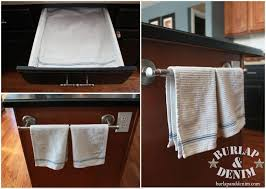 kitchen towel bars ideas kitchen towel storage kitchen design ideas