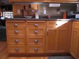 great custom handmade natural varnished alder cabinets for