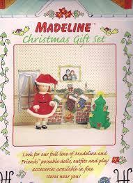 amazon com madeline doll christmas gift set toys u0026 games