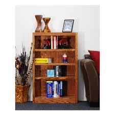 Sauder Bookcase by Sauder Barrister Lane Salt Oak Open Bookcase 414726 The Home Depot