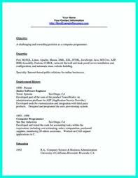 resume programmer programmer resume sample resume ideas pinterest free