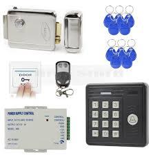 diysecur waterproof remote control 125khz rfid card reader access