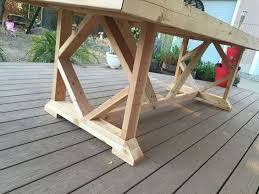 large outdoor dining table dining table how to build a large dining table diy large outdoor