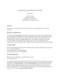 career summary statement exles accounting software file clerk job description for resume