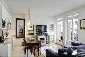 Features Of Contemporary French Interiors Home Interior - Apartment interior design ideas pictures