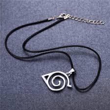 naruto anime necklace images Naruto konoha pendant necklace anime smart jpg