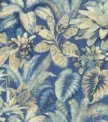 home decor print fabric tommy bahama botanical bliss evening sky