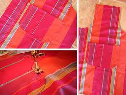 comment faire un tablier de cuisine joli tablier en tissu patron couture gratuit loisirs créatifs
