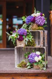 Ideas For Centerpieces For Wedding Reception Tables by Best 25 Wooden Crates Wedding Ideas On Pinterest Rustic Wedding