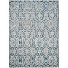 Area Rugs Blue Safavieh Sofia Blue Beige 9 Ft X 12 Ft Area Rug Sof381c 9 The